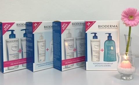 Teraz produkty BIODERMA Atoderm za akciové ceny!
