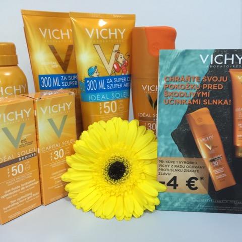 Zľava na výrobky VICHY z radu ochrany proti slnku