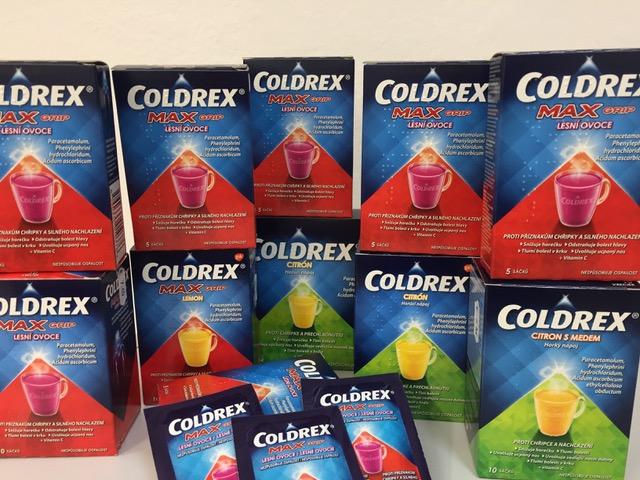 AKCIA: ZDARMA 1 balenie Coldrex Max lesné ovocie