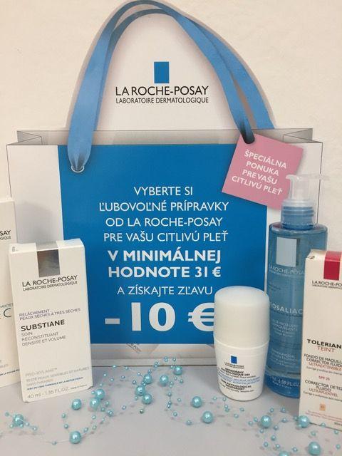 LA ROCHE-POSAY mínus 10 €