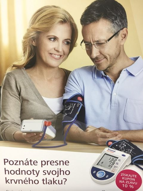 Poznáte presne hodnoty svojho krvného tlaku?