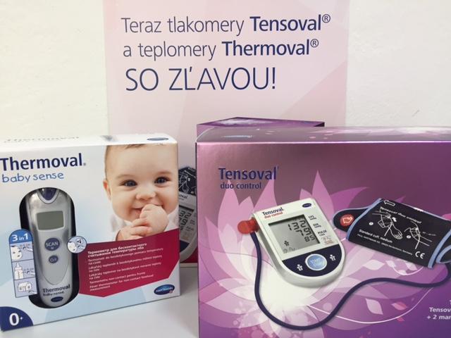 Meranie krvného tlaku + Tensoval kupón so zľavou 10%