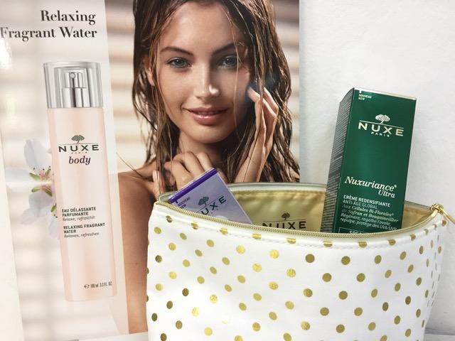 NUXE darček – luxusná kozmetická taštička