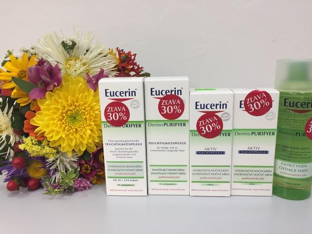 Eucerin DermoPURIFYER zľava 30%