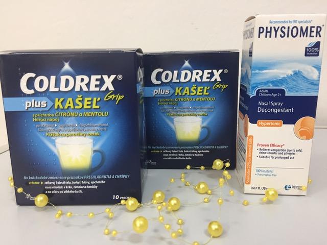 COLDREX Grip plus KAŠEĽ + Physiomer ZDARMA