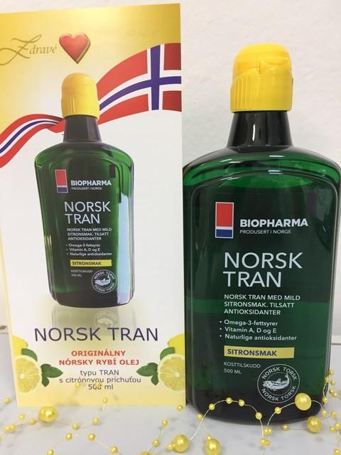 NORSK TRAN = zdravé srdce