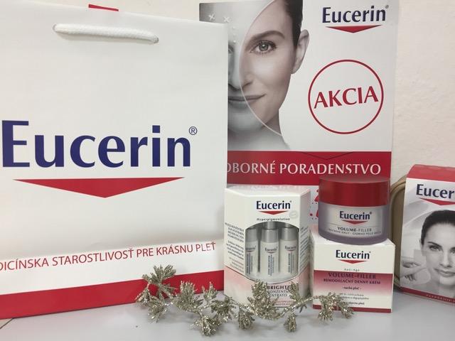 Eucerin – dnes odborné poradenstvo a mínus 20%