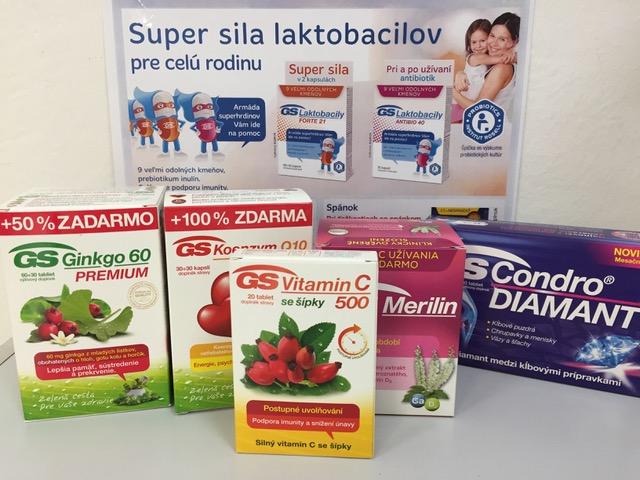 GS Vitamin C 500 ako darček