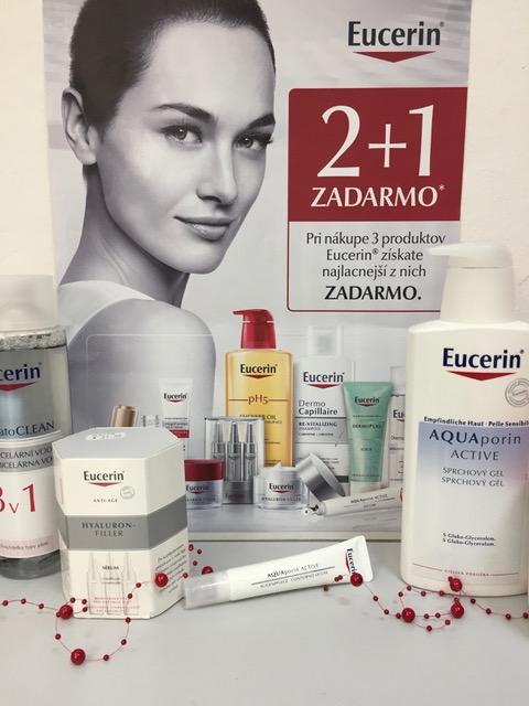 Eucerin 2+1 ZADARMO