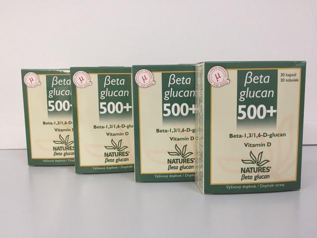 Beta glucan 500 za 27,50 €