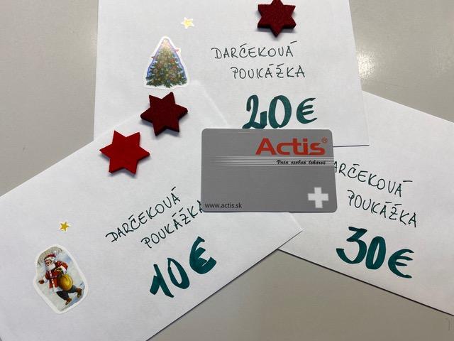 Darčeková karta – tip na vianočný darček