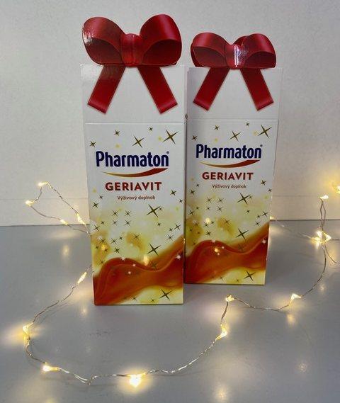 GERIAVIT Pharmaton vianočná cena 23,60 €