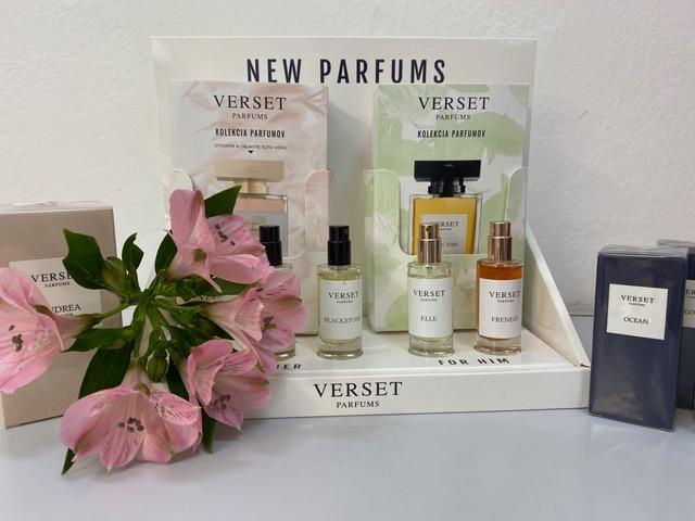 NEW VERSET parfums