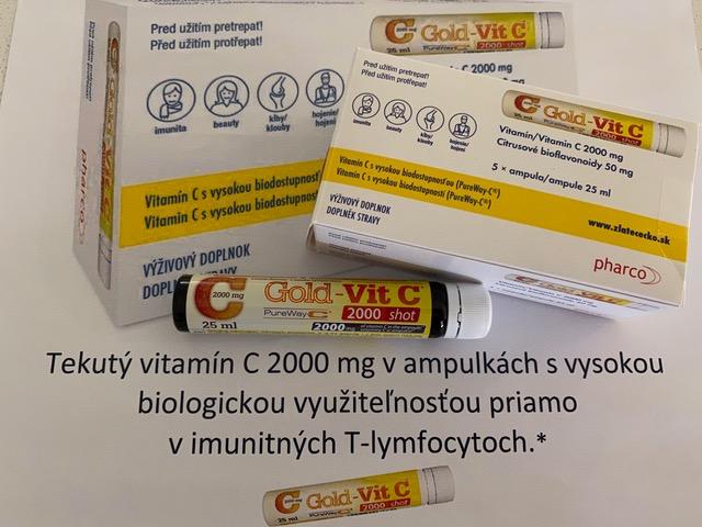 GOLD VIT C 2000