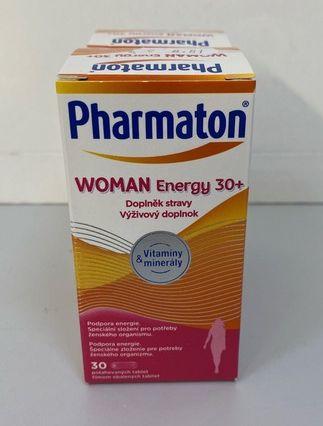 Pharmaton WOMAN Energy 30+ 1+1 zdarma